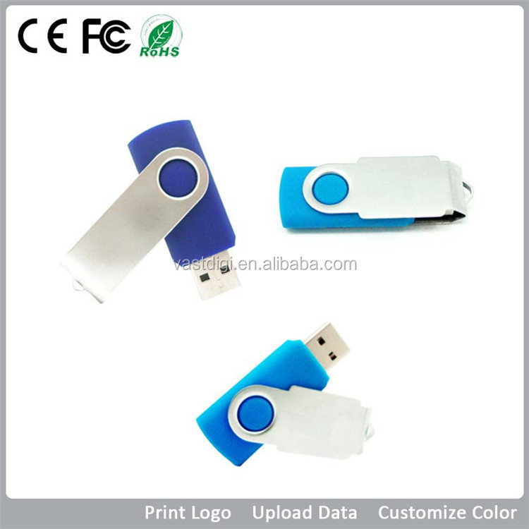 Cheap 1gb 2gb 4gb 8gb 16gb 32gb usb 3.0 swivel usb flash drive stick memory pen drive ,free color custom print logo printing