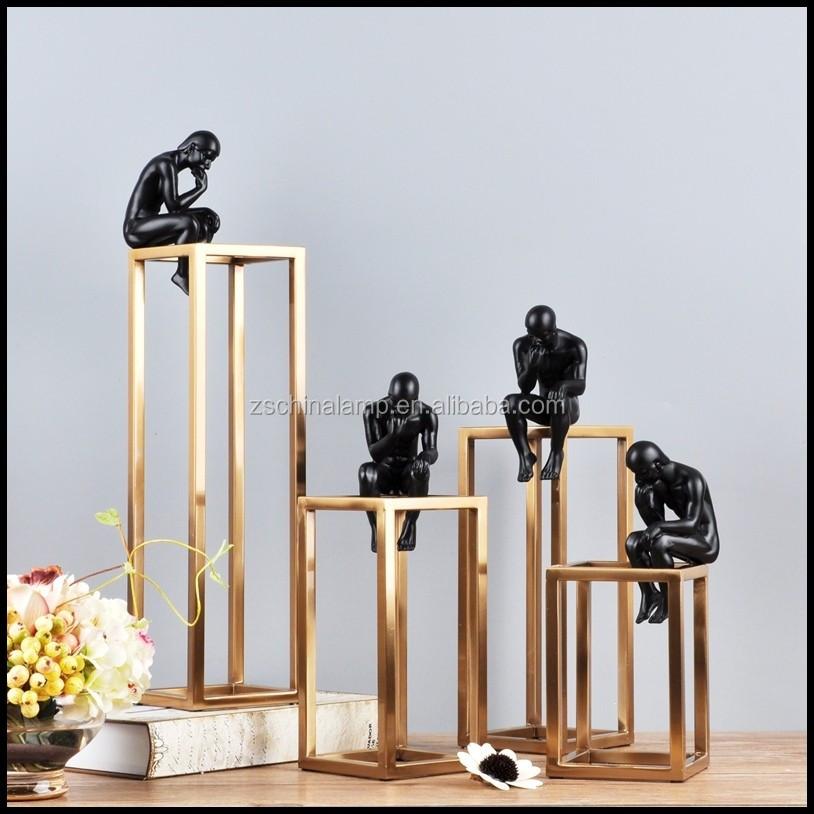 Saudi Arabia Custom Luxury Handmade Abstract Metal Craft Home