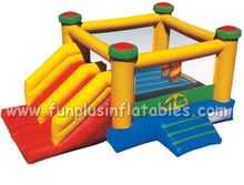 inflatable water slide castle,commercial bounce house,children playground equipment,jumping combo F3012