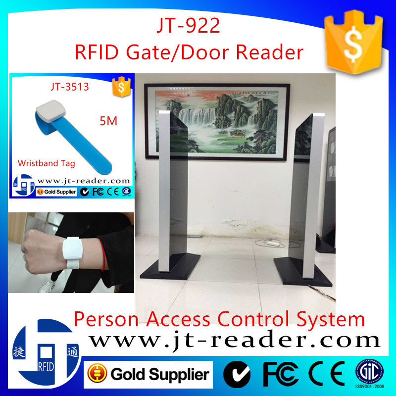 uhf rfid anti-theft gate reader for library/warehouse/personnel management system
