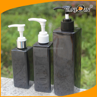 1 Liter Pet Plastic Bottle Square PE Shampoo Bottle 1000ml