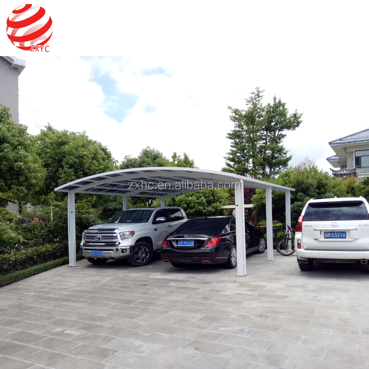 Polycarbonate Panel Retractable Gazebo Metal Frame Outdoor Canopy
