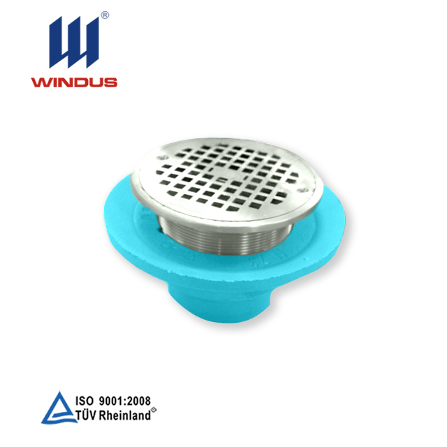 customized painted sand casting carbon steel cleanroom floor drain round drain grates drainage grates