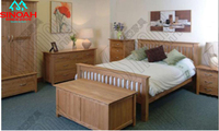 903 Range 100% Solid Oak Bedroom Sets/Bedroom Furniture