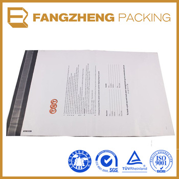 Wholesale alibaba strong adhesive poly mailer bag/custom poly mailer bag/envelope courrier bag