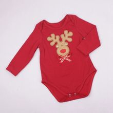 Top Sale Custom Design Embroidery Plain Baby Rompers from China
