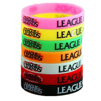 League Of Legends Silicone Wristbands Colorful