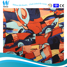 new style different types of fabric printing technological innovations in textile