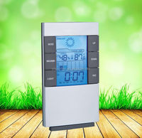 The weather multifunction lcd clock,LCD Clock,table clock with calendar