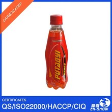 Glucose Energy Drink with Carbonate in PET bottle