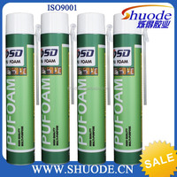 Pu foam sealant for electric pipe joint sealing