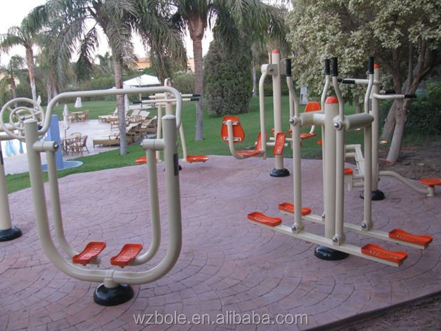 2014 China New Outdoor Fitness For Elderly Commercial Gym Equipment Hip Twister Stepper Machine For Parks Or Backyard