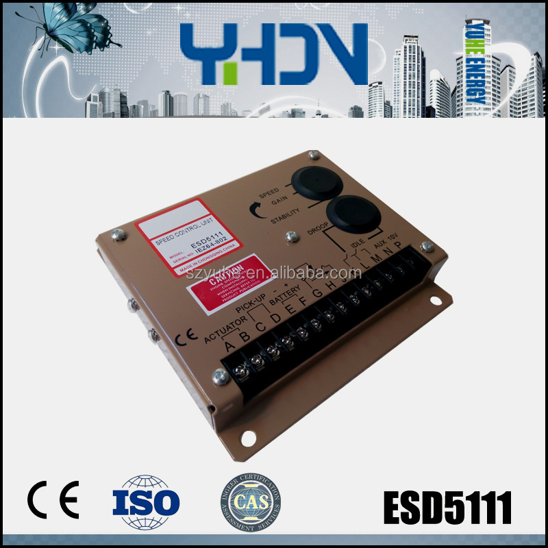 All types diesel engine control/speed control unit esd5111 for power generator