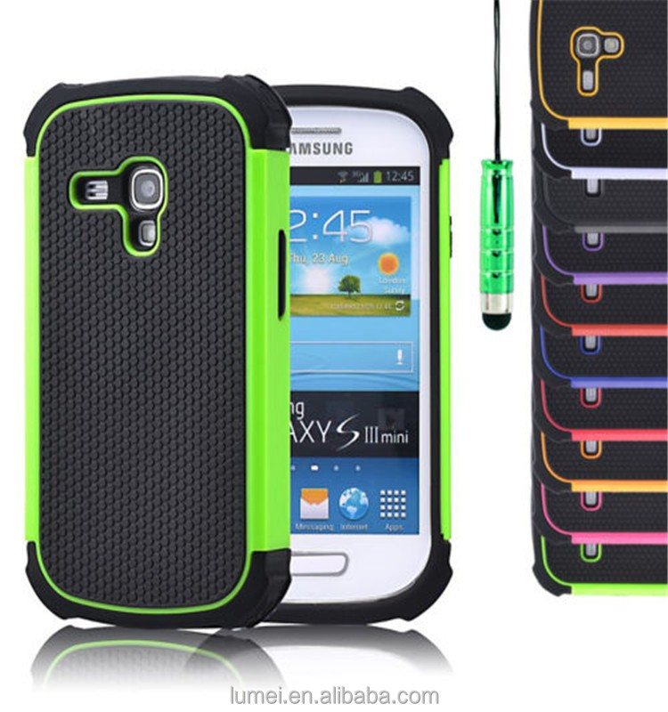 Shockproof Hard Back Case Cover For Samsung Galaxy S3 Mini