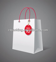 Custom Made High Quality paper shopping bag changsha jinding