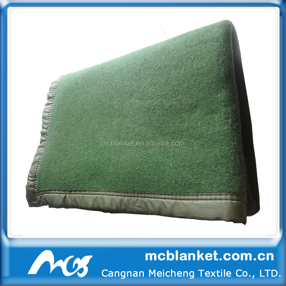 military Blanket/polyester cotton wool /army blanket