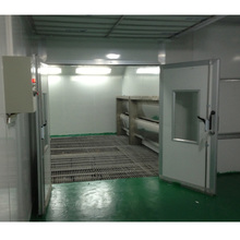CE approval furniture water curtain based paint spray booth