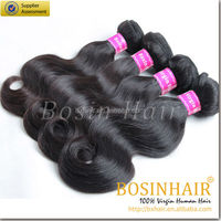 3 Bundles/lot, 300g Total (100g Each) Brazilian Body Wave Human Virgin Hair Remy Hair Extensions Weft Weave