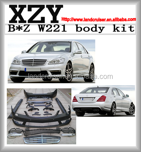 2014 W221 S65 body kit, W221 body kit, body kit for W221 S65