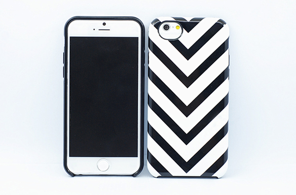 2pcs TPU bumper and PC IMD Cover combo case for iphone 6