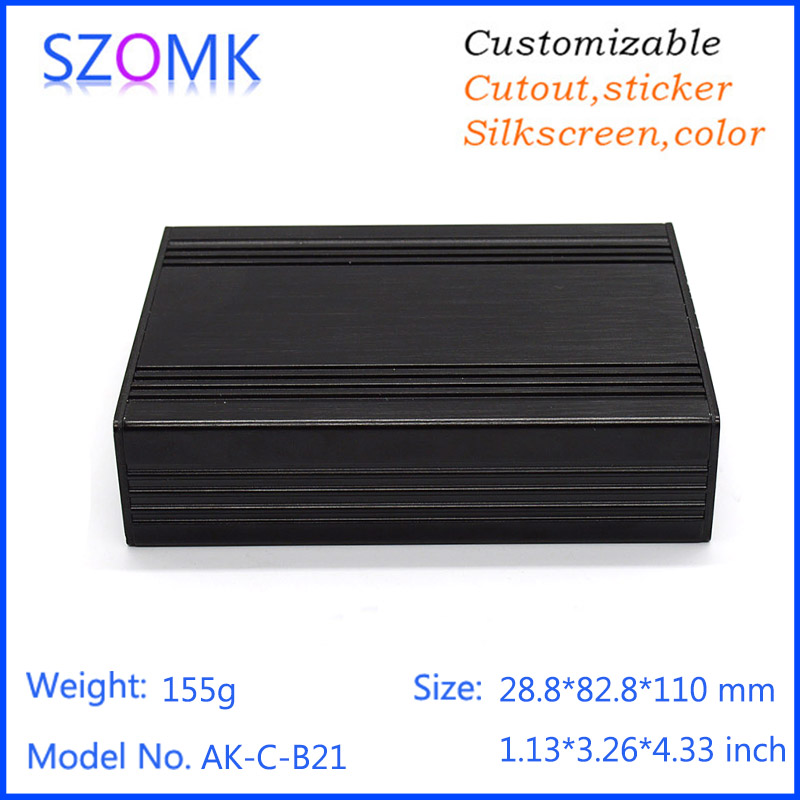 anodized aluminum enclosure for Mobile power supply