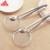 Stainless steel oil separator for fried food Filter spoon with clip