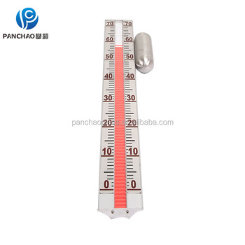Magnetic Float Level Indicator Magnetic Rotar Display Level Measuring Gauge / level Meter / digital Level Meter