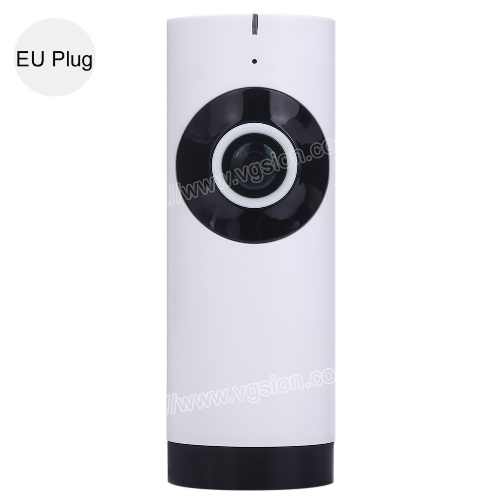 Small Full HD White 180 Degree Smart Wifi Mini Camera Security Fisheye CCTV Panoramic Camera Good Night Vision