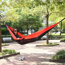 Best Selling Many Colors Lightweight Parachute Fabric Single Kids Hanging Hammock
