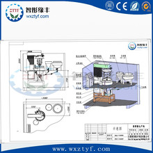 Ice Cream Emulsifying Machine Making Mixer Grinding Machinery