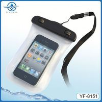 Pvc abs waterproof bumper case for iphone 4