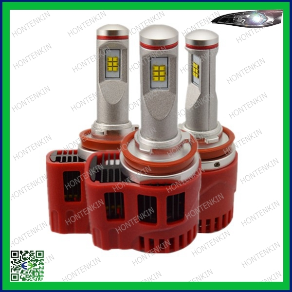 Chinese Wholesale h8 car led headlight restoration kit With independent micro-Fan
