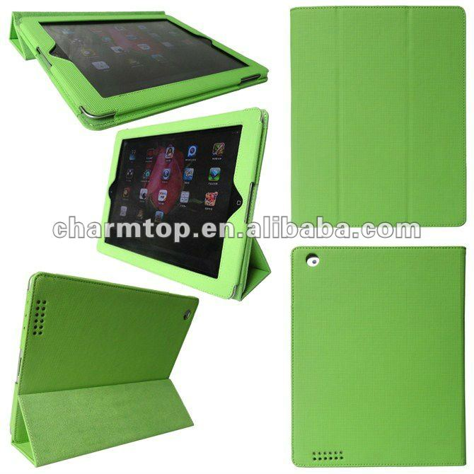 Luxury Fancy Leather Case for ipad 3