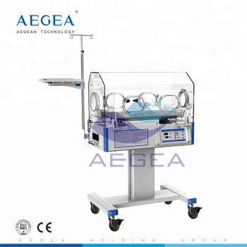 LED display hospital used emergency healthcare premature portable baby incubator