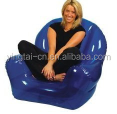 Hot sales Outdoor Inflatable Furniture Inflatable Sofa giant plastic inflatable chair
