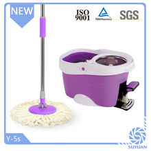 as seen tv household cleaning new pp material magic spin mop