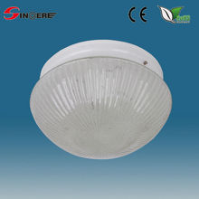 round glass Porcelain Ceiling LampE27 lampholder flush mounted led ceiling lamp glass lamp cover