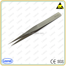 Antistatic stainless tips cheap tweezer for mobile phone