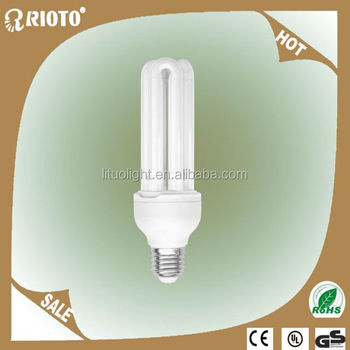 Wholesale zhejiang hangzhou factory U shape energy saving lamp