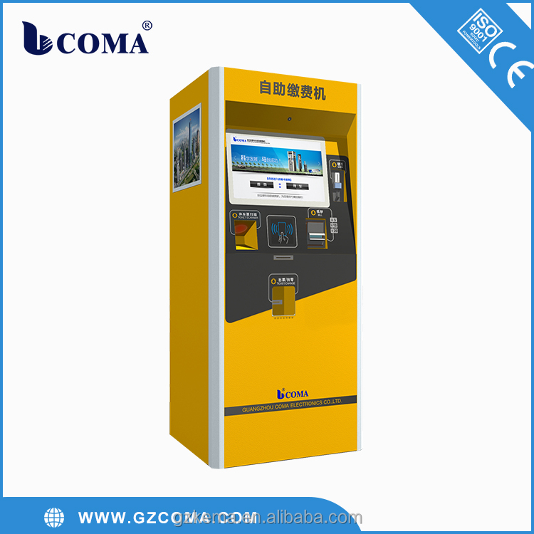 Full Automatic car parking payment system Autopay Machine