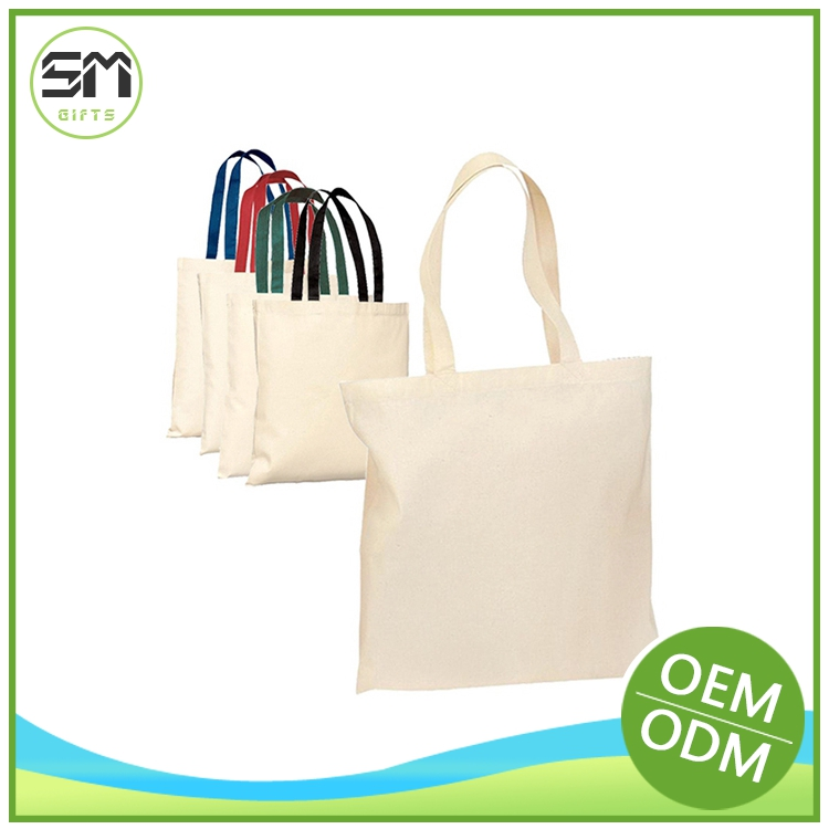In many styles hot-sale washed cotton canvas tote bag
