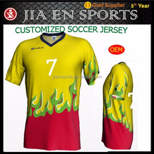 Team soccer uniforms for kid and man, custom wholesale soccer clothes