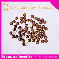 wholesale SS3-SS30 crystal Flatback Non hotfix 14 cutting face korean rhinestone