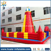 Mobile climbing wall , indoor sport game, inflatable rock climbing