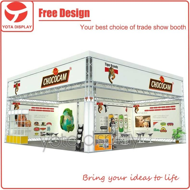 Yota 10x10 Customized Outdoor Light Weight Modular Exhibition Stand with Waterproof Cloth