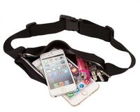 For iphone 6s sport outdoor waist phone pouch screen card Holder with earphone Hole and Belt running wallet Bags