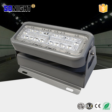 tunnel lighting silver aluminum housing 5200 lumens 40w led tunnel lamp