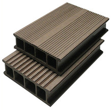Good Price Wood Plastic Swimming Pool Deck Materials Extruded Wood Plastic Composite Decking