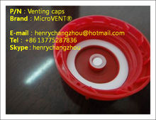 <MICROVENT> vent bottle cap