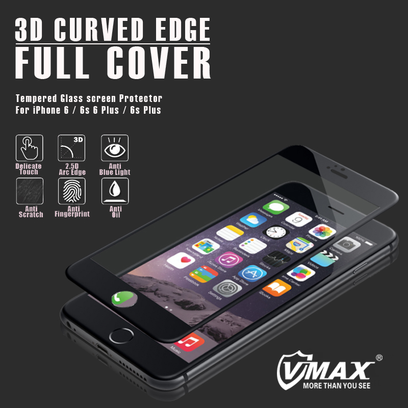 Top sell product 9h 3d curved Anti Blue light tempered glass cheap price screen protector tempered glass for iphone7/7 plus